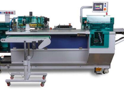 New Machine: Automatic Plastic Coil Punch & Bind Machine